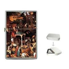 Buy Dutch Proverbs Bruegel Art Cigarette Flip Top Lighter
