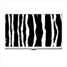Buy Zebra Pattern Business Credit Card Case