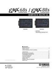 Buy Yamaha EMX68S MIX88CB Manual by download Mauritron #256889
