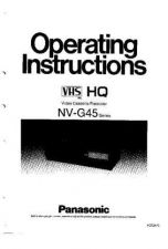 Buy Panasonic NVG45 Operating Instruction Book by download Mauritron #236219