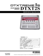 Buy Yamaha DTXT2S MAIN Manual by download Mauritron #256339