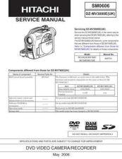 Buy Sony DZ-MV3000E Service Manual by download Mauritron #231962