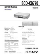 Buy Sony SCD-XA9000ES Technical Manual. by download Mauritron #243820