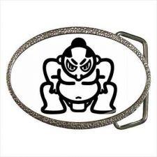 Buy Sumo Wrestler Japan Japanese Man Art Belt Buckle New