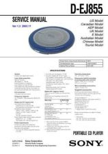 Buy Sony DCR-DVD100DVD100E RMT-820. Service Manual by download Mauritron #239510
