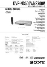 Buy Sony DVP-NS500VNS700V RMT-D131AD131ED131PD131O Service Manual by download Mauri