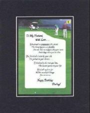 Buy Poem for Love & Marriage -To My Husband With Love, 11x14 Double-Bevelded Matting