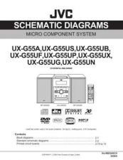 Buy JVC UX-G55UP.. Service Manual by download Mauritron #272782