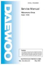 Buy Daewoo R1A6S9S001 Manual by download Mauritron #226379