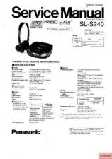 Buy Panasonic sl_sw404_p Service Manual by download Mauritron #268854