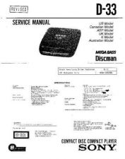 Buy Sony D-243CK Service Manual by download Mauritron #239421