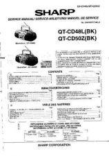 Buy Sharp QTCD48L-QTCD50Z -DE-FR(1) Service Manual by download Mauritron #210239