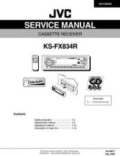 Buy JVC KS-FX834R Service Manual Schematic Circuit. by download Mauritron #271708
