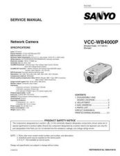 Buy Fisher. Service Manual For VCC-WB4000P by download Mauritron #217537