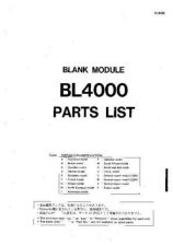 Buy JVC BL4000 PL C Service Manual by download Mauritron #250494
