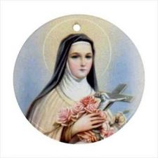 Buy St Therese Of Lisieux Patron Saint Ceramic Ornament