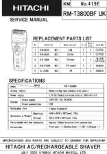 Buy Hitachi No 419E Manual by download Mauritron #225345