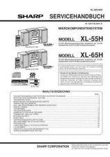 Buy Sharp. XL55H-65H_SM_DE Manual by download Mauritron #212117