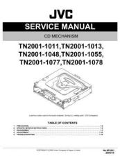 Buy JVC TN2001-1011 Service Manual. On by download Mauritron #272658