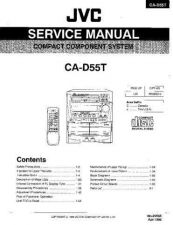 Buy JVC jvc-ca-d55t--- Service Manual by download Mauritron #273480