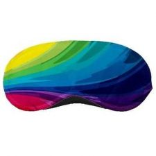 Buy Colorful Eye Mask Rainbow Air Travel Accessory Polyester New