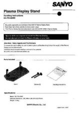 Buy Fisher KA-TD-42WE Display-Stand Service Manual by download Mauritron #215966