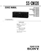 Buy Sony SS-CN120 Manual by download Mauritron #229795