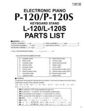 Buy Yamaha P1000S 2500S 3500S SM C Manual by download Mauritron #258378
