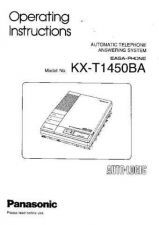 Buy Panasonic KXT2322 Operating Instruction Book by download Mauritron #236045