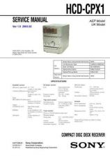 Buy Sony HCD-CP500KCP500MD Service Manual by download Mauritron #240919