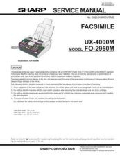 Buy Sharp FO2950M-UX4000M_1 Manual by download Mauritron #212052