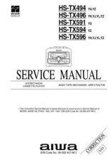 Buy AIWA HS-TX594 YZ TE by download #107699