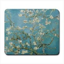 Buy Vincent Van Gogh Almond Tree in Blossom Computer Mouse Pad