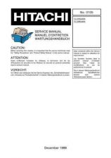 Buy Hitachi CL2842AN Service Manual by download Mauritron #260572
