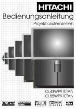Buy Hitachi CL43WP910TAN DE Manual by download Mauritron #224448
