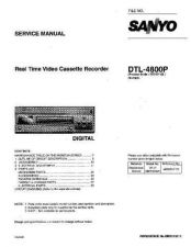 Buy Fisher DTL-4800P Service Manual by download Mauritron #215589