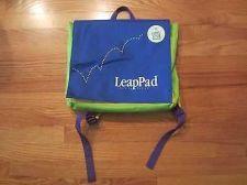 Buy LEAPPAD LEAP FROG BACKPACK BAG STORAGE GAME HOLDER Excellent Condition