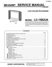 Buy Sharp LC15B2UA Service Manual by download Mauritron #208996