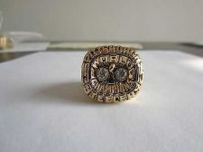 Buy 1975 SUPER BOWL X CHAMPIONSHIP RING Pittsburgh Steelers Player Harris 11S NIB