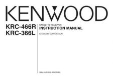 Buy Kenwood KRC-369 Operating Guide by download Mauritron #222595