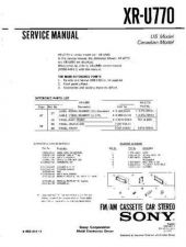 Buy Sony XR-F5100 Service Manual. by download Mauritron #246252
