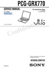 Buy Sony PCG-FXA680. Service Manual. by download Mauritron #243307