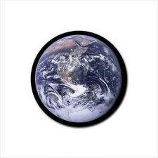 Buy Earth Planet Set Of 4 Round Rubber Drink Coasters