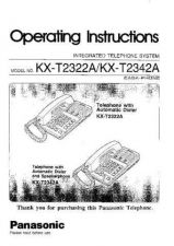 Buy Panasonic KXT2445 Operating Instruction Book by download Mauritron #236049