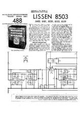 Buy LISSEN 8503 SERVICE IN by download #106229
