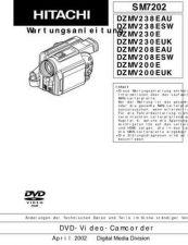 Buy Hitachi DZMV350A-K Service Manual by download Mauritron #261939