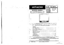 Buy Hitachi C21RF50S Service Manual by download Mauritron #263401