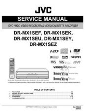 Buy JVC DRMX1S SERVICE MANUAL Manual by download Mauritron #230117