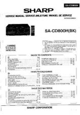 Buy Sharp SACD800H -DE-FR(1) Service Manual by download Mauritron #210372