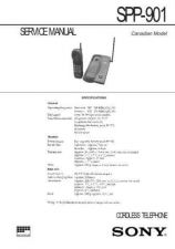 Buy SONY SPP-A973 Technical Info by download #105221